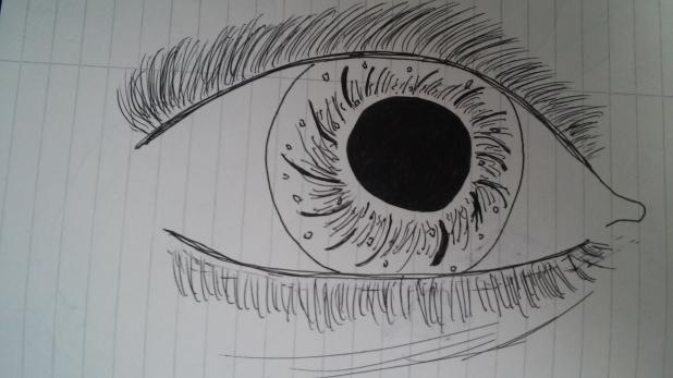 human nature eyeball